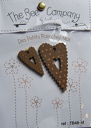 Coeur pois chocolat