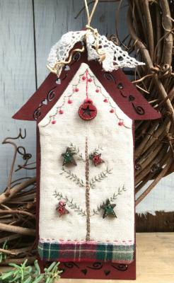 Kit Patch Maisonnette Rouge Noel