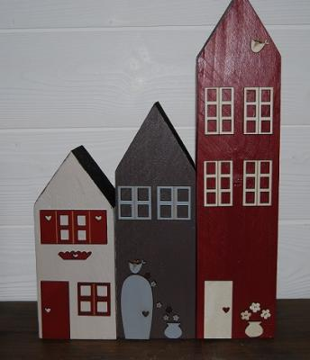 Lot 3 maisons