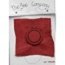 Mini tambour lin rouge tb28r