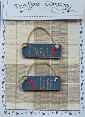 """TB30D Etiquette """"Simple Life"""""""