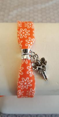 "Bracelet orange "" fée"""