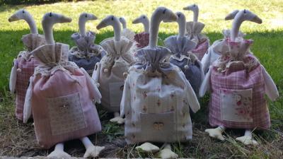 Oie en tissu