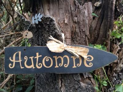"Pancarte ""Automne"""