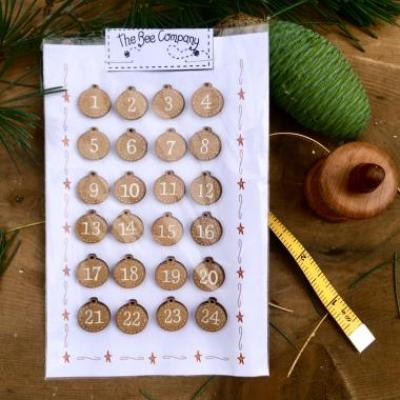 N10 Advent calendar buttons