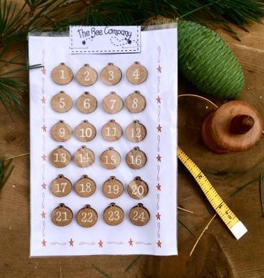 N10 Advent calendar buttons