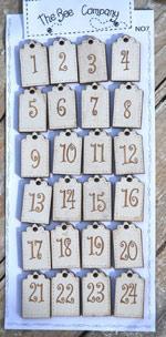 NO7 buttons advent calendar