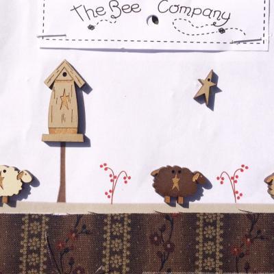 TB79B Les moutons et nichoir